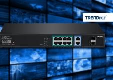 TRENDnet ofrece switch PoE para vigilancia critica