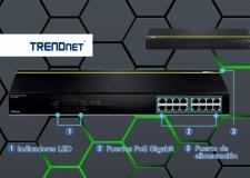 Switch PoE+ de alta capacidad de conmutación: TRENDnet