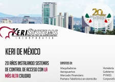 Keri Systems México celebra 20 años de compromiso en el país