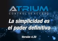 CDVI  presenta la versión 4.30 de ATRIUM